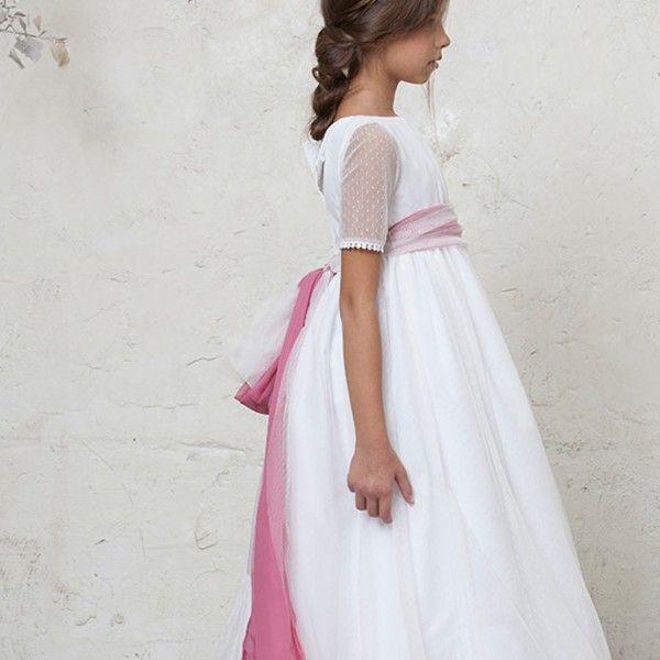 Vestido primera comunion plumeti