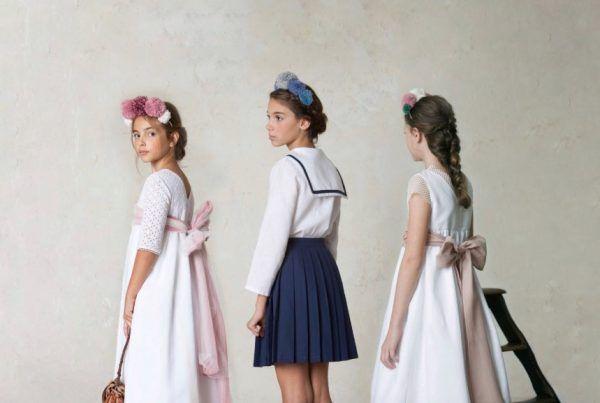 complementos y accesorios de vestidos de comunión para niñas