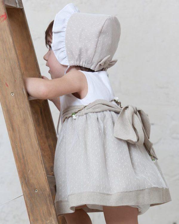 vestido de ceremonia de outlet de lino