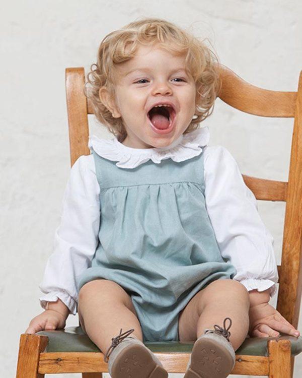 ranita de lino para bebés