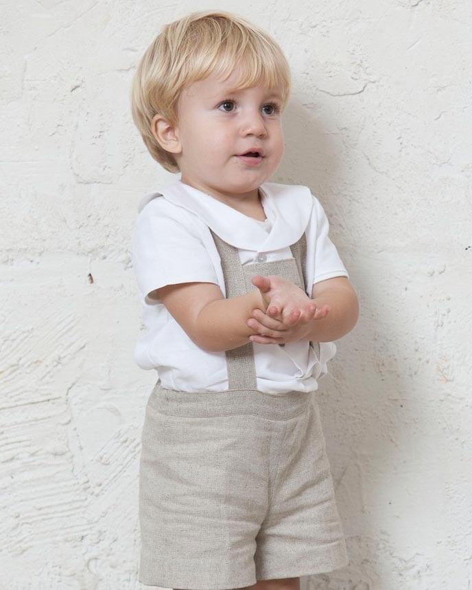 5cc069c44 Camisa de bebé cuello marinero