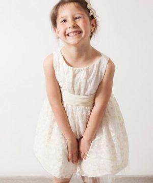 vestido de ceremonia de niña de outlet