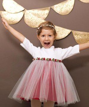 vestido de ceremonia de outlet para niña
