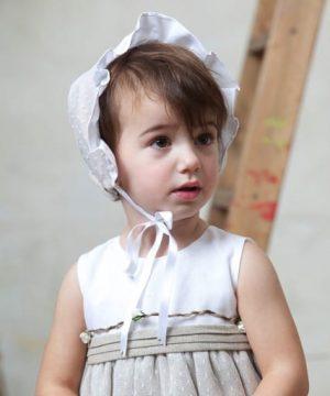 fajín de lino de ceremonia para bebés