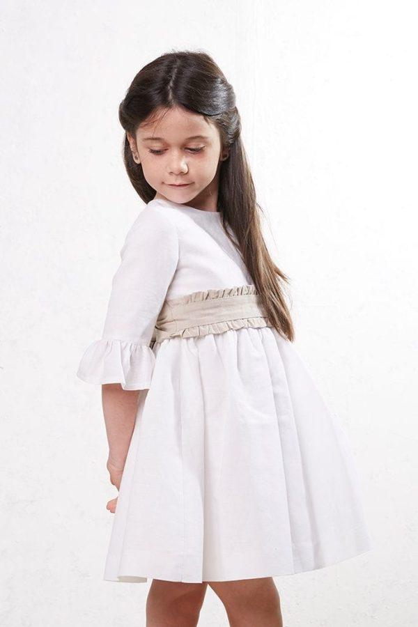 fajin de lino de niña para bodas