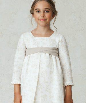 fajín para hacer lazo en vestidos de arras de niña