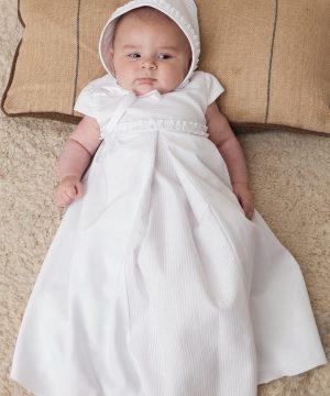 faldón de bautizo de primera puesta de niña
