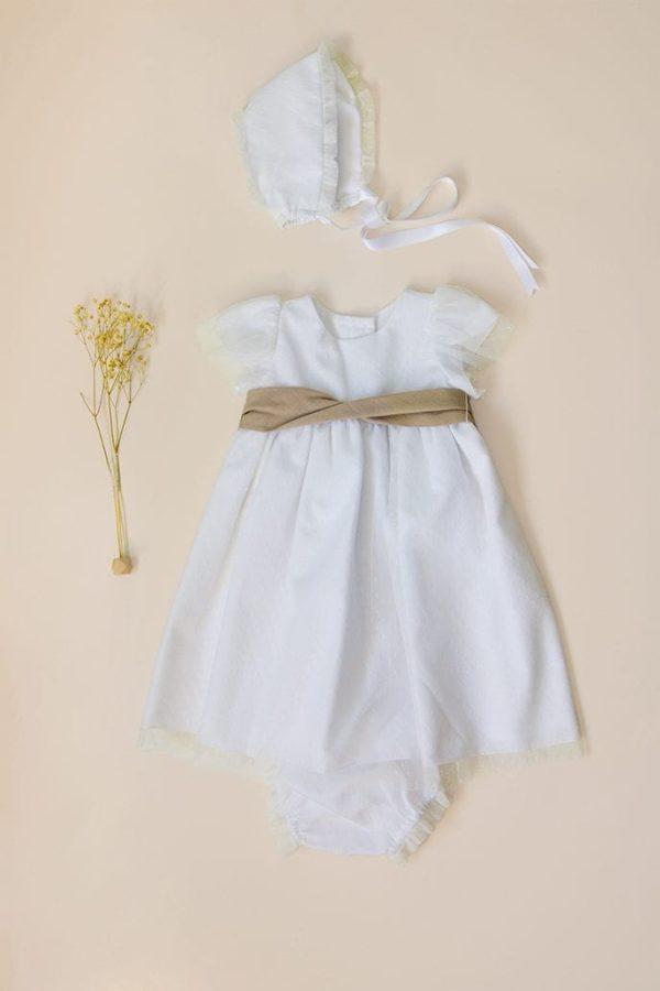 traje de bautizo de babé para verano