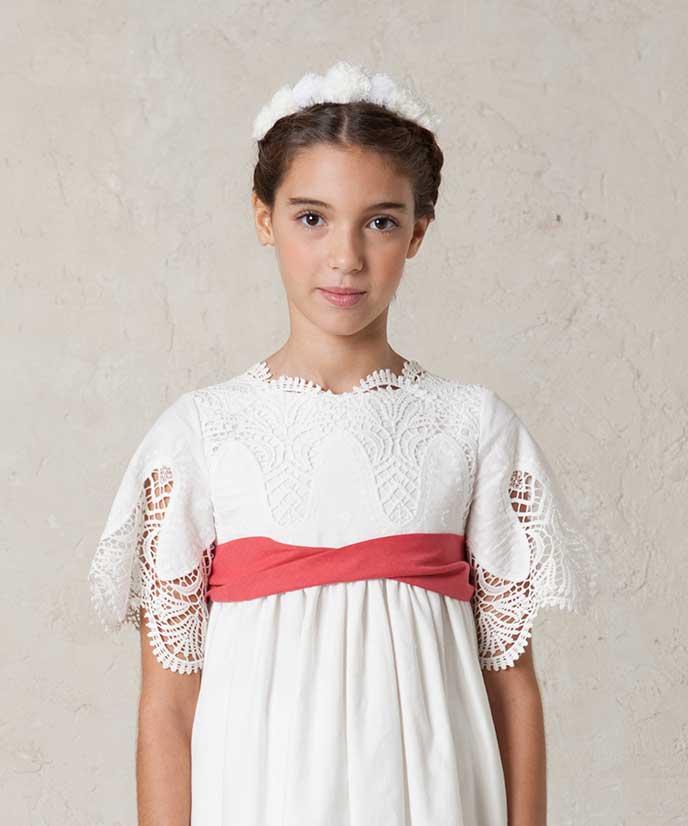 fajín de niña para trajes de primera comunión