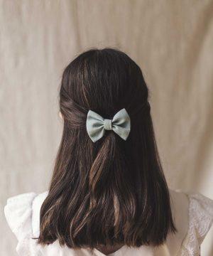 lazos para el pelo a juego con los vestidos de comunion o de ceremonia de quemono
