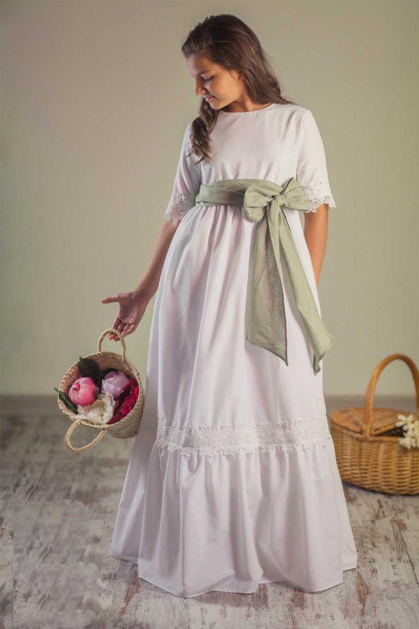 vestido de comunión para niñas de oferta