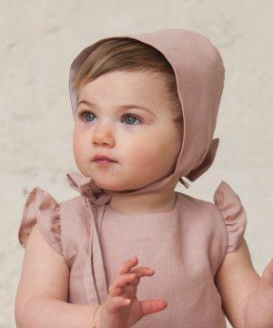 capota de bebé niña