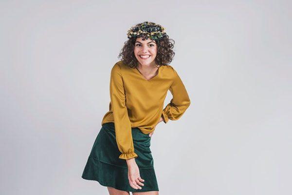 blusa de vestir en eventos para adolescentes