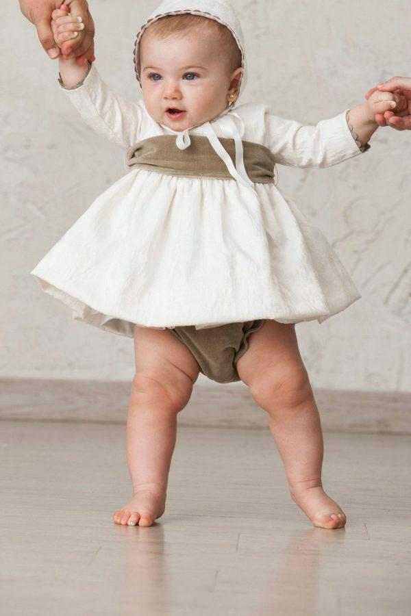 cubrepañal de ceremonia de bebé para invierno de terciopelo