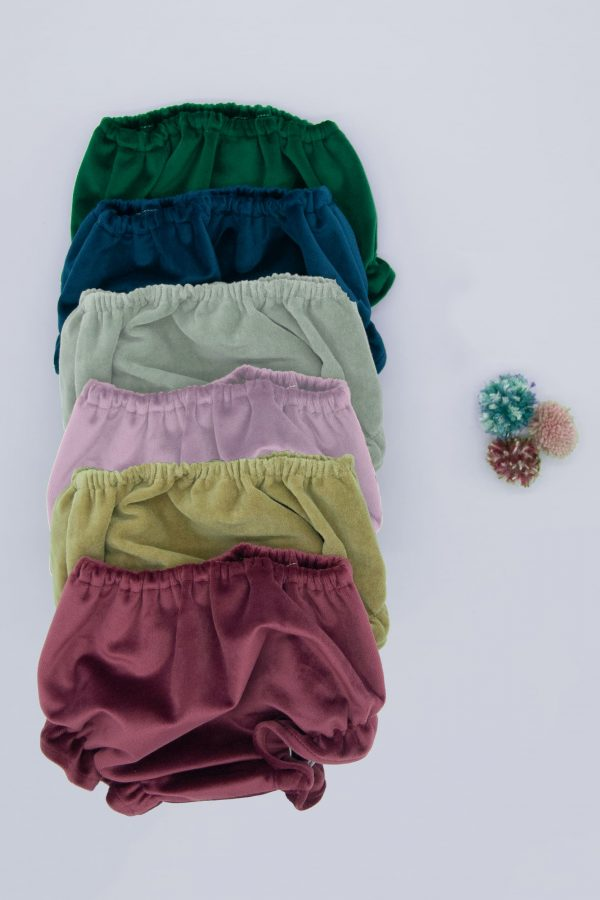 cubrepañal de ceremonia de bebé para invierno de terciopelo en varios colores