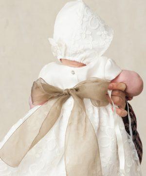fajín de bautizo de bebé