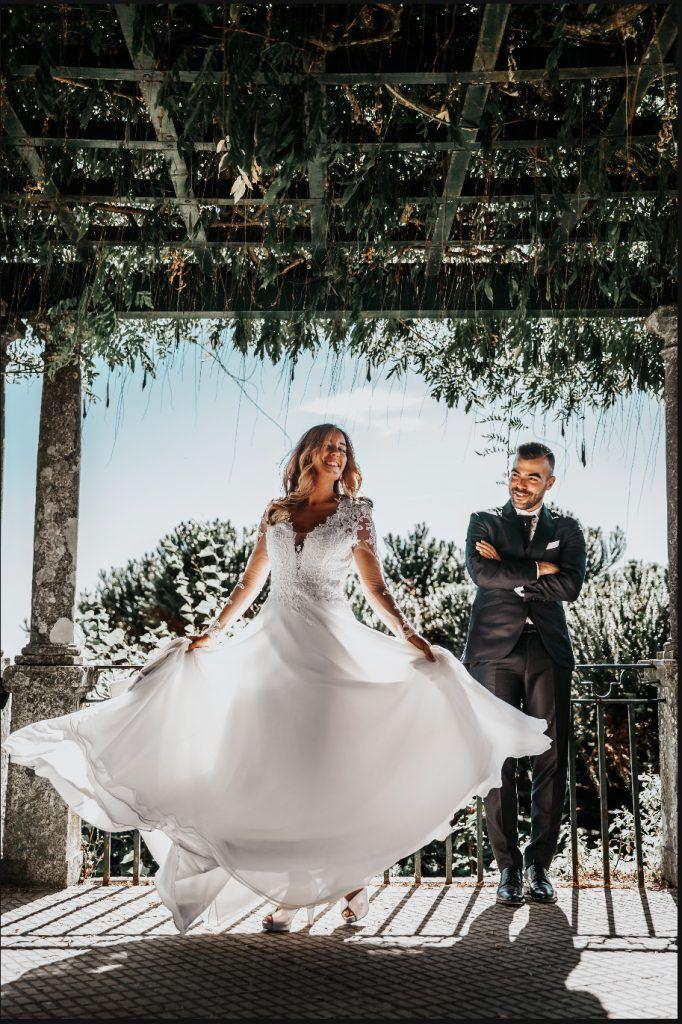 Vestido novia sencillo