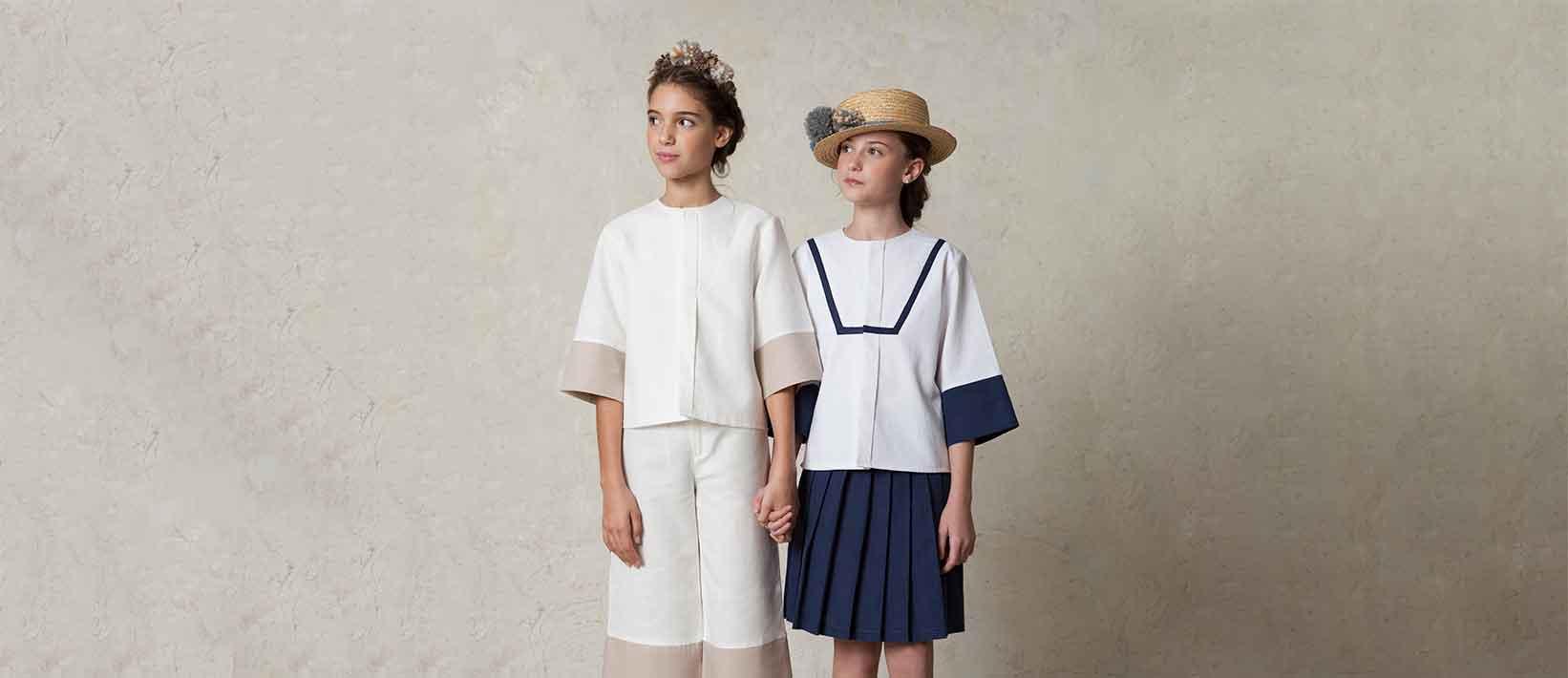 Cómo vestir a tu hija de primera comunión si no quiere vestido