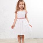 vestido de niña para bodas sencillo