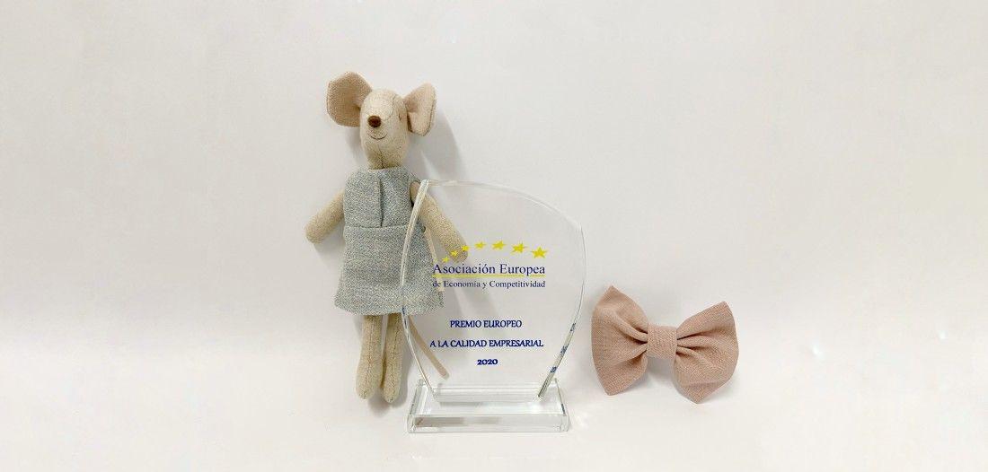 Quémono recibe un premio de calidad europeo por su ropa para niños