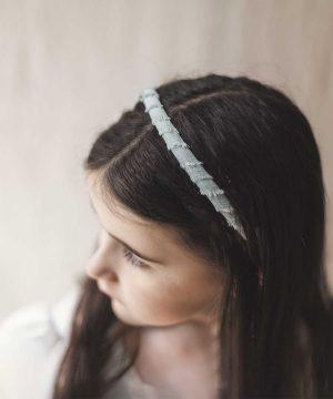 Diadema de bodas para pelo de niña