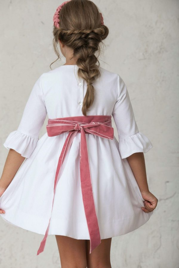 lazo de fajin de niña para vestidos de fiesta
