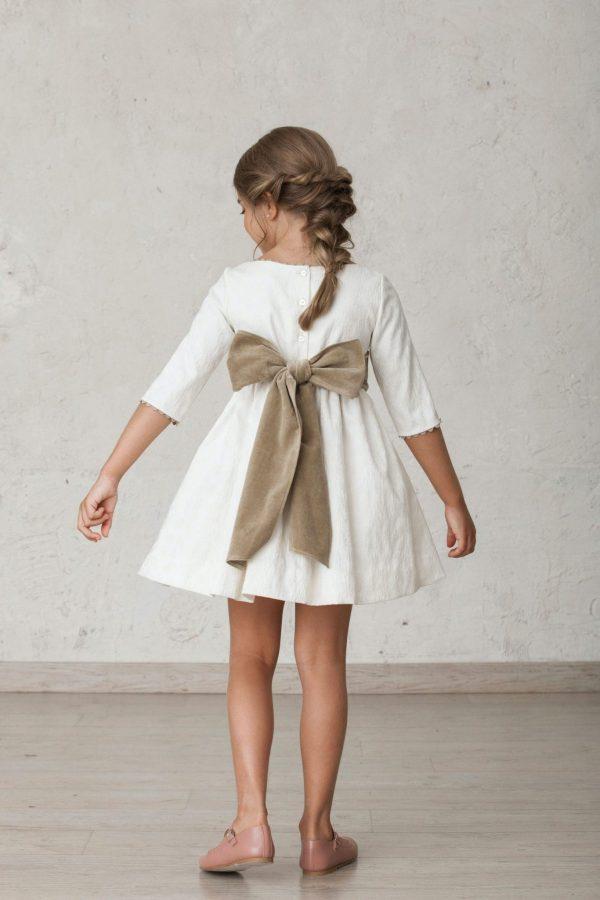 fajin de terciopelo con lazo para vestidos de arras de invierno