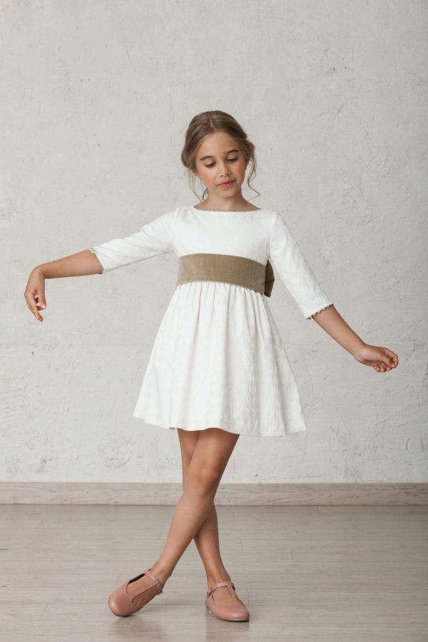 fajin de terciopelo para vestidos de arras de invierno
