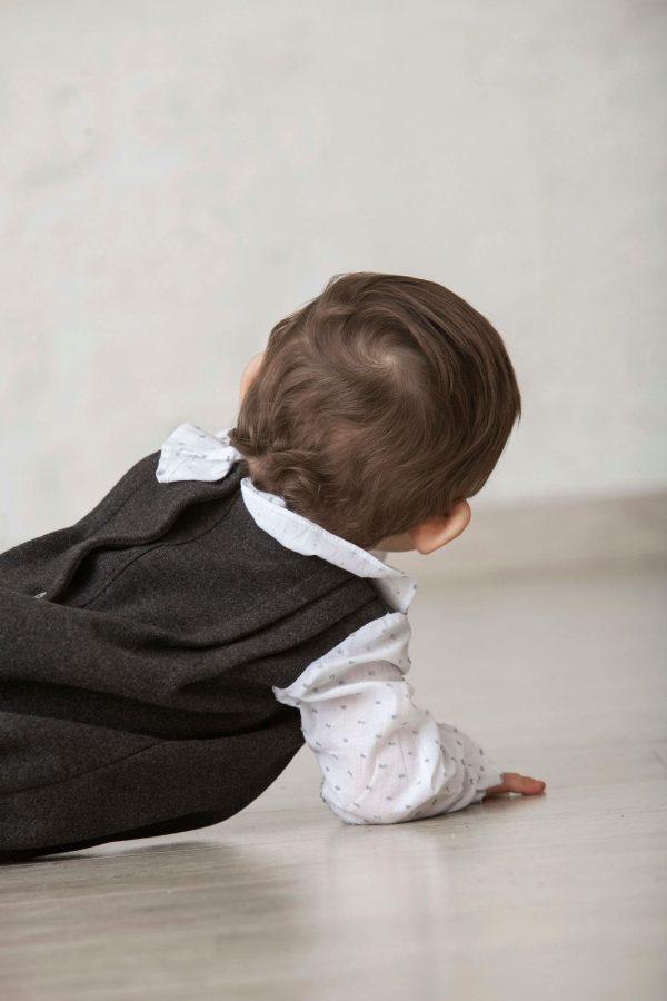 ranita de invierno para bebé en paño