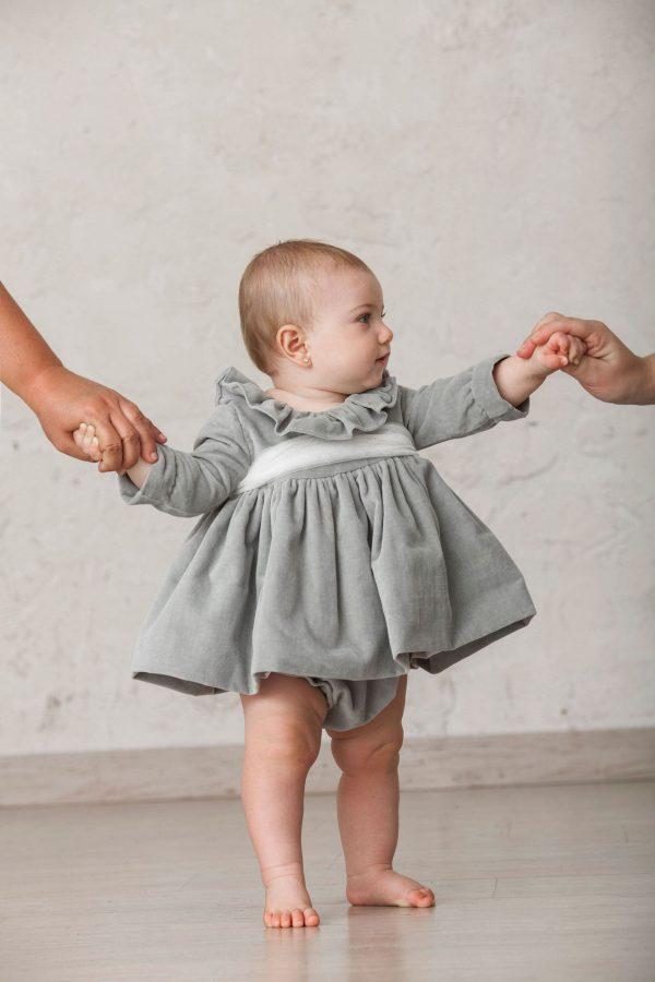 vestidos de bebé de niña para ceremonias de invierno