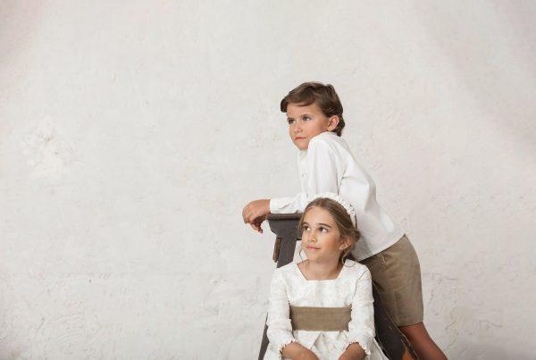 niños de arras en las bodas de invierno