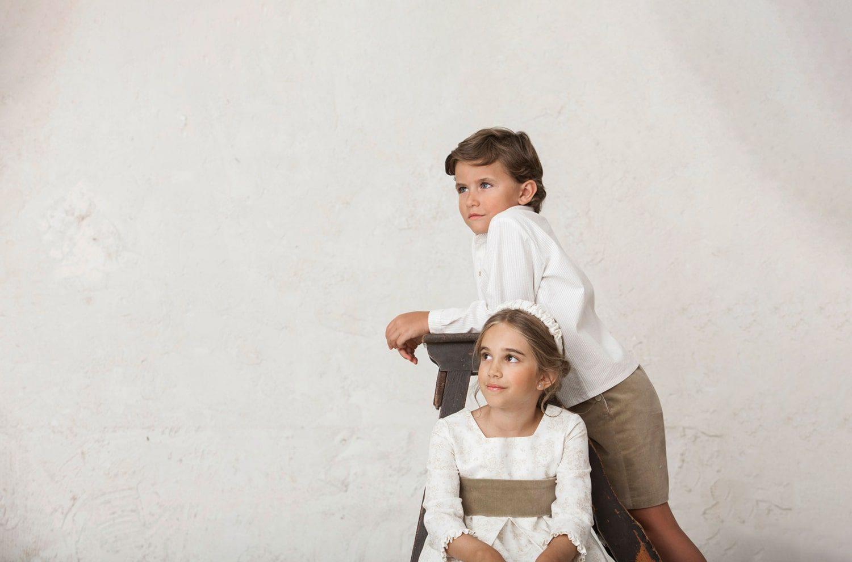 Los niños de arras en las bodas de invierno