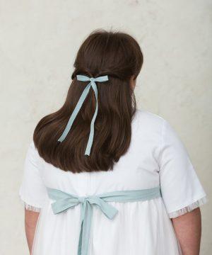 lazo de pelo estrecho para niña