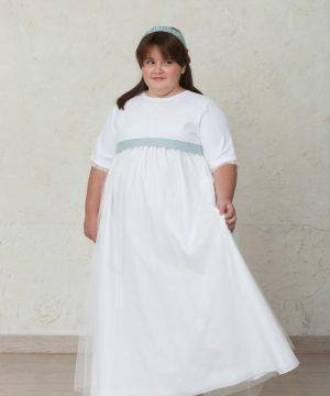 vestido de comunión de tallas grandes para niñas