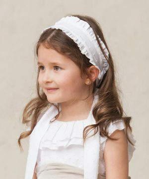 cinta de pelo de niña