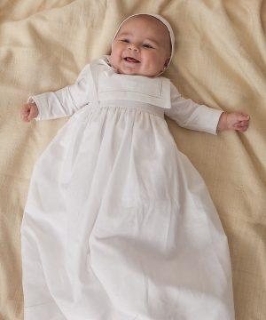 faldón de bautizo de niño