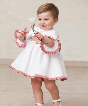 vestido de bebé niña de ceremonia